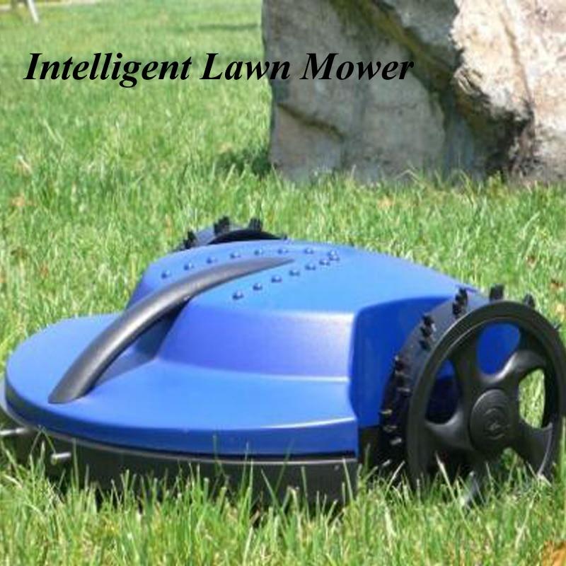 Intelligent Lawn Mower Auto Grass Cutter Auto Recharge Robot Grass Cutting Machine Garden Tools TC-G158 free shipping robot lawn mower auto grass cutter intelligent mower lithium battery auto recharge garden tool