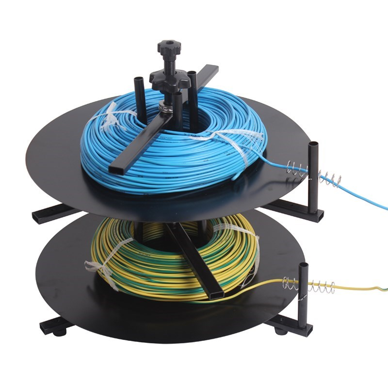 To Machine Feeding Rotary Wires Tools Coil 4 1 Feeder Layer Cable