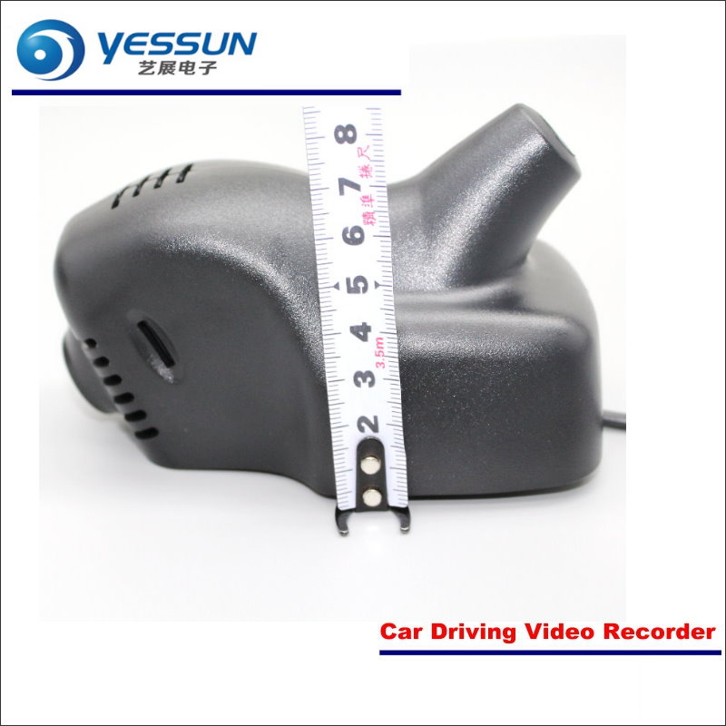 YESSUN Car Front Camera For Volkswagen VW Multivan 2012-2017 DVR Driving Video Recorder Black Box Dash Cam Plug OEM 1080P WIFI liislee for volvo s60 2012 2013 car black box wifi dvr dash camera driving video recorder novatek 96655 fhd 1080p