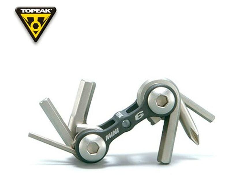PRO Mini Resin Folding 6-piece Multi Tool MultiTool Bike Hex 2-6mm Philip