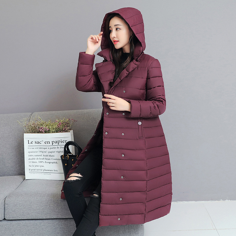 Winter Jacket Women Down Parkas Jackets Coat Plus Size Woman Down Cotton Jacket with Belt Fashion Parka Thick Coat Jacket Women in Parkas from Women 39 s Clothing