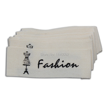 free shipping customize garment printed cotton labels/customized clothing tags/collar labels/woven labels/hang tag/ribbon tape