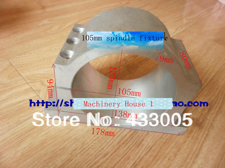Free Shipping spindle bracket 105 mm Spindle motor fixture Spindle Chuck for CNC Router Spindle Bracket машинка на радиоуправлении shantou gepai auto world от 3 лет зелёный пластик 4 канала свет 1 12
