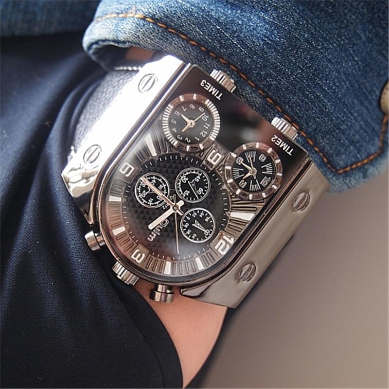 OULM 2018 Originele Fashion Designer Merk Quartz Horloges Heren 3 - Herenhorloges - Foto 5