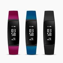V07S Смарт-фитнес браслет с женский физиологические напоминание Часы Приборы для измерения артериального давления монитор сердечного ритма Смарт Браслет