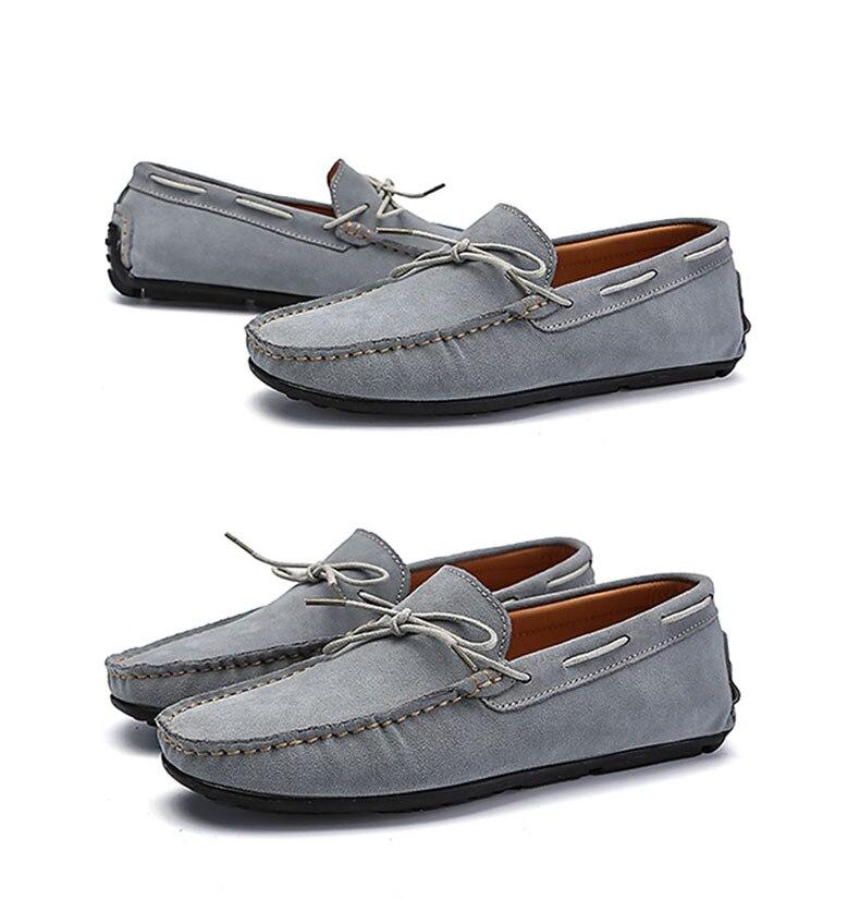 Для мужчин повседневная обувь замшевые мокасины удобные Синий Розовый Мужская обувь Туфли без каблуков Летняя мужская обувь eur 36-45 AQ559-574 C1