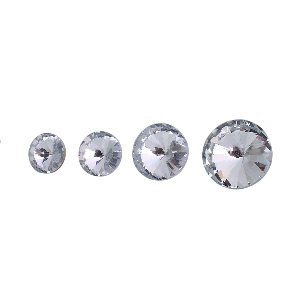 Flavor 10pcs Satellite Drill Crystal Buttons Buckle Scrapbooking Buttons For Clothing Sofa Furniture Decoration Diy Sewing Accessories Fragrant In