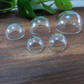 10pcs---14mm&15mm&16mm&20mm&25mm &30mm Hemisphere glass dome bottle for diy jewelry accessories(only glass bottle)