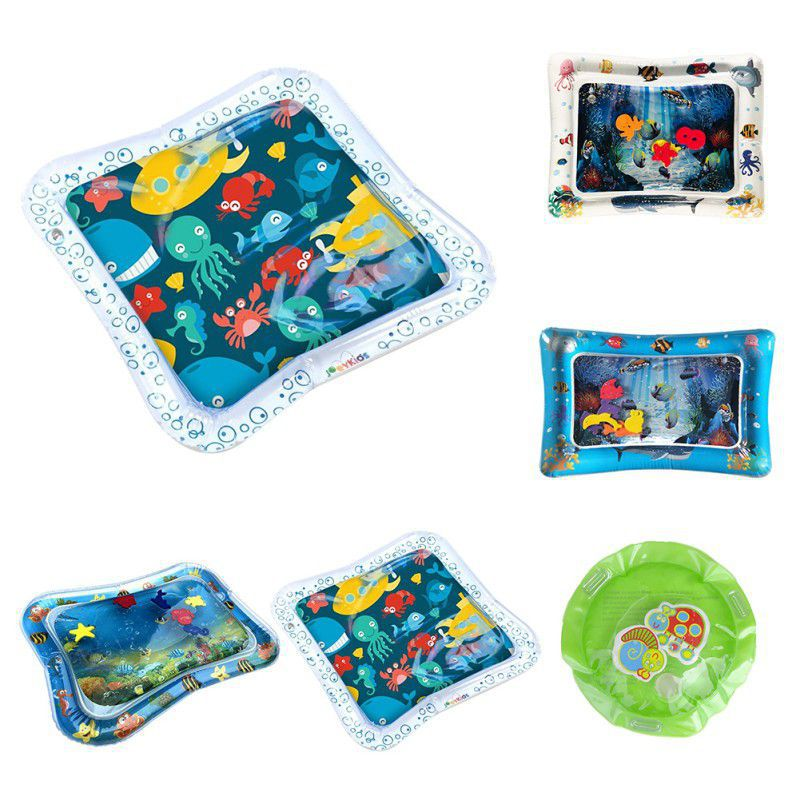 Inflatable Water Play Mat Tummy Time Activity Center for Kids or Baby Water Mat Toddlers Easy to Inflate & DeflateInflatable Water Play Mat Tummy Time Activity Center for Kids or Baby Water Mat Toddlers Easy to Inflate & Deflate
