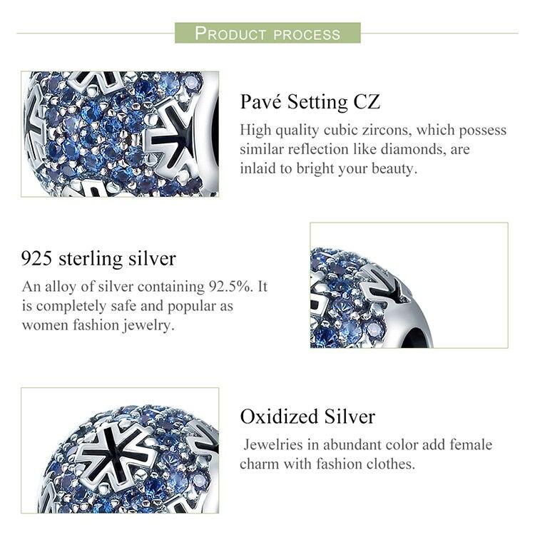 834dc7e49034 Nombre Cuentas de plata con dijes que se ajustan a la Pulsera Original  colgantes DIY accesorios joyeríaMaterial 100%Plata de Ley 925Si no