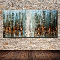 Hand Painted Decorative Poster Wall Art Canvas Oil Painting Modern Abstract Paintings Wall Picture For Living Room Home Decor
