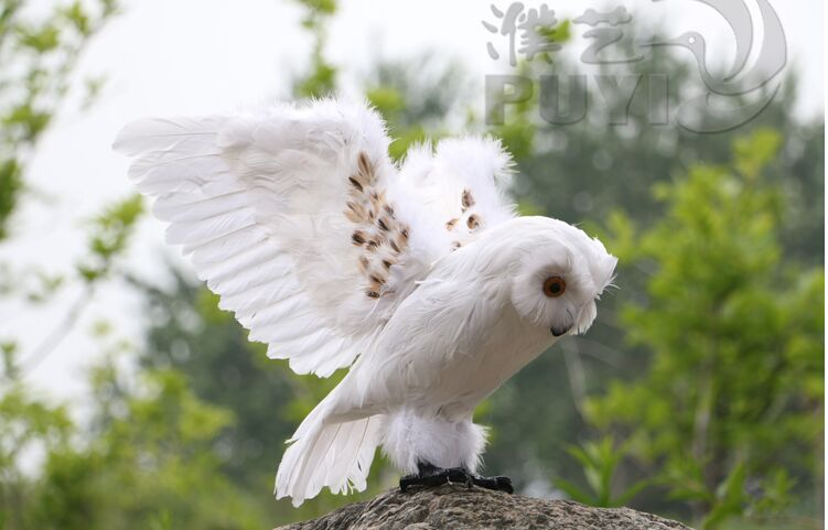 new simulation owl toy polyethylene&fur white wings owl model gift about 30cm 1566 sitemap 257 xml