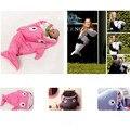 Hot Sale Cute Cartoon Shark Baby Sleeping Bag Winter Baby Sleeping Sack Warm Baby Blanket Warm Swaddle