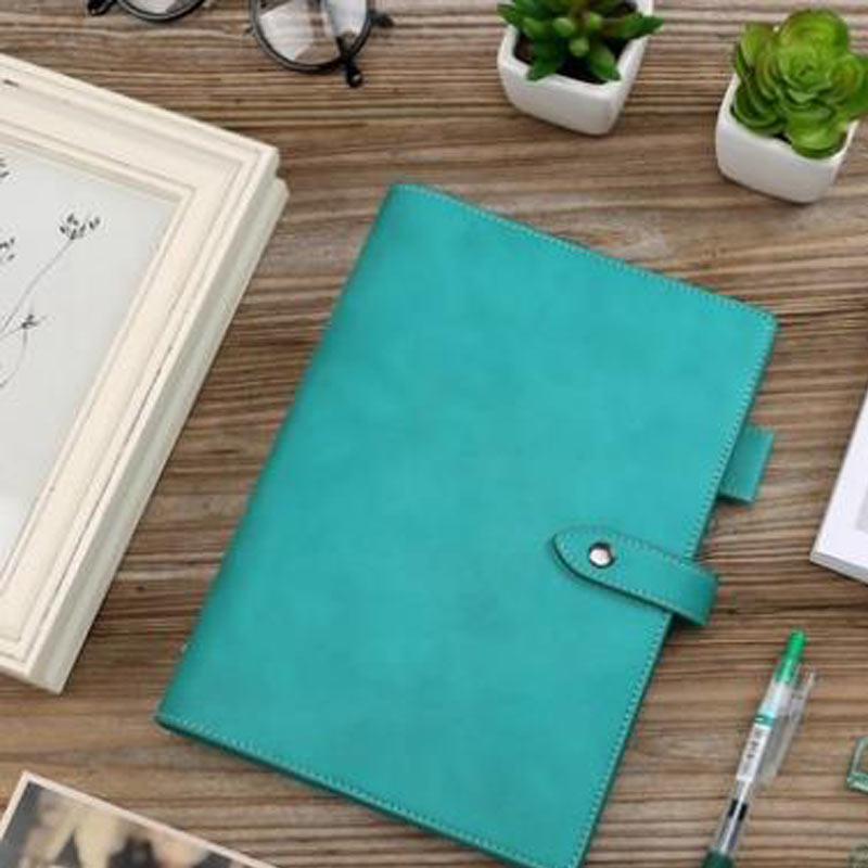 Yiwi A5 A6 Vintage Loose Leaf Refillable Spiral Notebook Dairy Planner Filofax Travel Journal Notepads Simple Light Custom