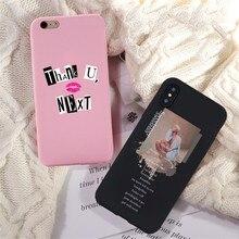 Ariana Grande God is a woman чехол для телефона для iphone X XR XS Max 8 7 6s 6 Plus 5S God is a woman черный мягкий силиконовый чехол для iphone x