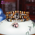 ZIRCONER New style Fashion Jewelry Charm Agate Crystal Bracelets & Bangles for Women Kids Girl Best Gift for A friend