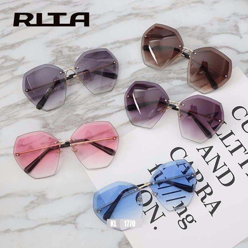 Las Rimless Sunglasses  women 39 s rimless sunglasses glasses compra lotes baratos de