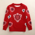 Nuevo 2016 Suéter de Los Niños del Otoño del Resorte Niñas Niños Cardigan Suéteres O-cuello Suéteres de Vestir Exteriores de la Muchacha Muchachos Niños Suéteres de Lana