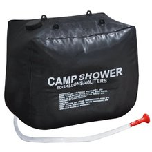 SEWS 40L Solar Heating Hiking Camping Camp Shower Bag Case Outdoor Washing
