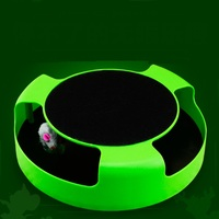 Cats Amusement Dish Make Toy Cat Rotary Disk Interactive Game Crazy Play