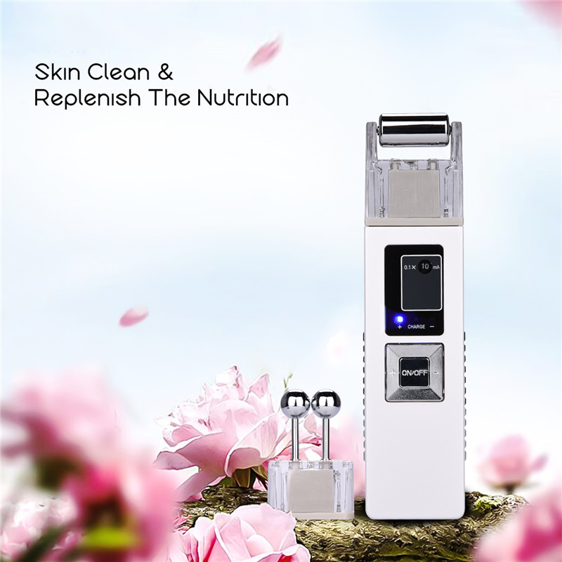 Portable Facial Freckle Massager Galvanic Skin Whitening Firming Pigments Remove Face Cleaning Skin Care Anti-aging SPA Beauty hot facial beauty skin care health beauty instrument ph 1 equipment ultrasonic whitening anti acne pimples aging wrinkles r