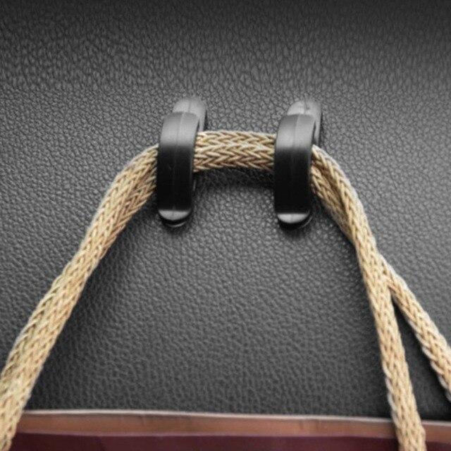 4pcs Set Universal Car Truck Plastic Hook Bag Key Purse Holder
