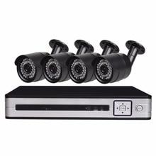 1080N DVR HD Outdoor Security Camera System 1TB Hard Drive 4CH DVR CCTV Surveillance Kit AHD Camera Set