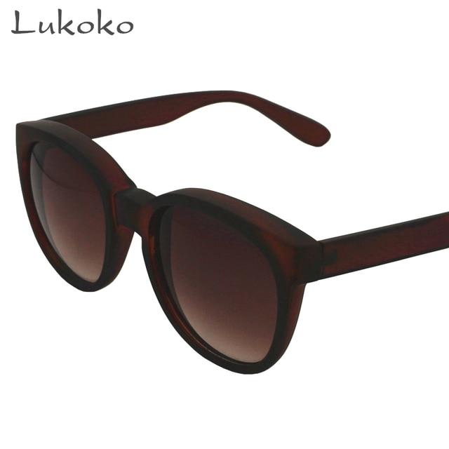 Lukoko Cat Eye Glasses Moda Retro Mulheres Óculos De Sol 2017 Da Marca de  Luxo Designer 5ee9fcab5b