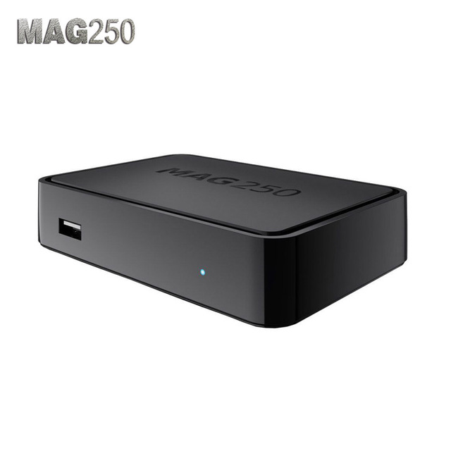 MAG 250 Iptv Set Top Box Without Iptv Account European IPTV Box MAG250 Support USB Connector Best Linux Mag 250 IPTV Box