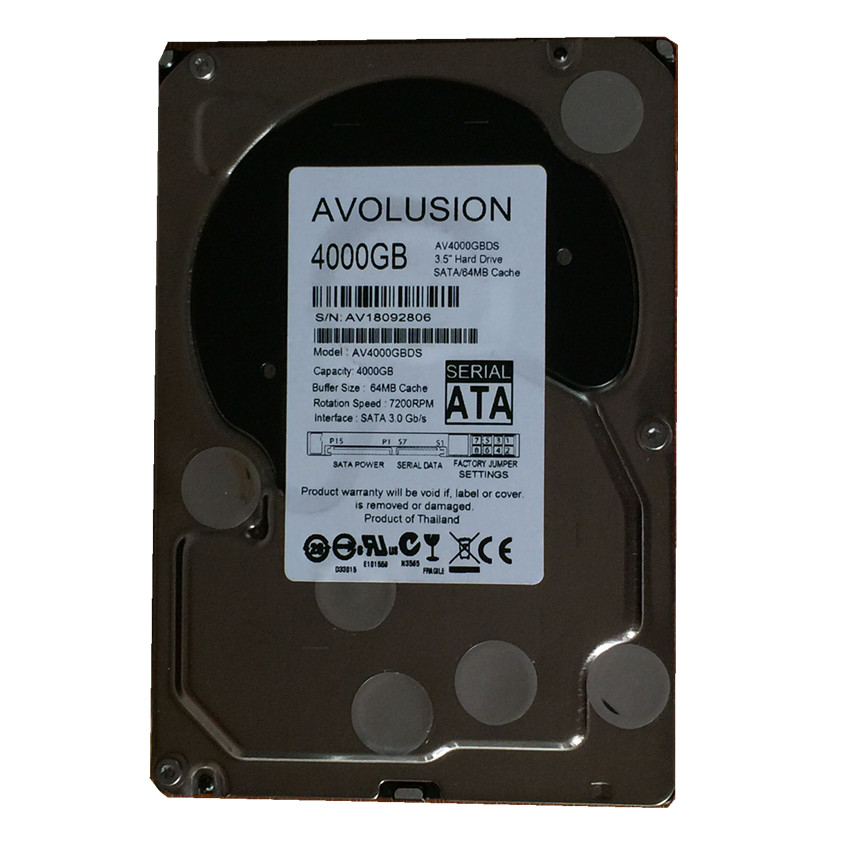 все цены на 4000GB SATA 3.5inch 7200RPM 64MB Cache Enterprise Grade Security CCTV Hard Drive Warranty for 1-year онлайн