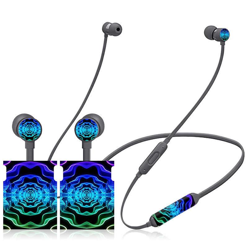 Классическая черная Беспроводная стереофоническая наклейка из углеродного волокна для Beats X cover Наушники для BeatsX наклейка на кожу всего тела