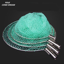 strong nylon line Depth 60cm landing net of head nylon net fishing net fishing network turck net dipneting fishing tool