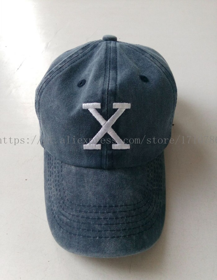 Malcolm X Hat BHM Dad Cap 90s X Logo (BY ANY MEANS NECESSARY) Vtg Retro 0a5609f41bf
