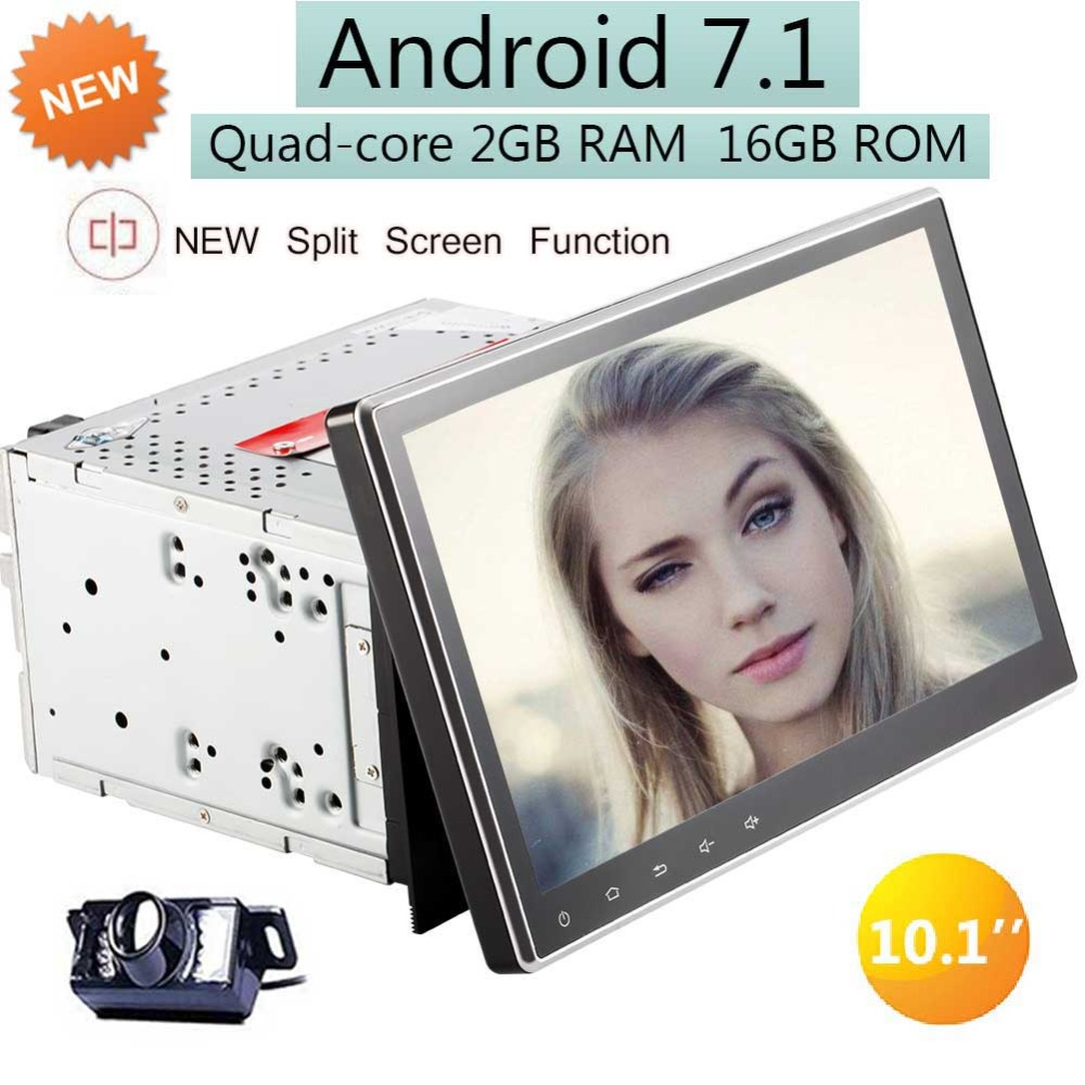 Car Stereo GPS Navigation 2G 16G IN Dash Car DVD Player with Bluetooth Capacitive Touchscreen Support WIFI/4G/SD/USB/FM/AM Radio