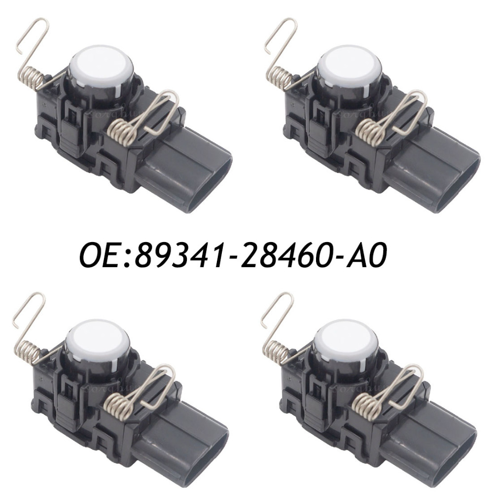 4PCS PDC Parking Sensor Fits Toyota Previa Tarago ACR50 2AZFE GSR50 2GRFE 89341-28460 89341-28460-A0 4pcs pdc ultrasonic parking disatance control sensor for toyota 89341 53030 8934153030 89341 53030