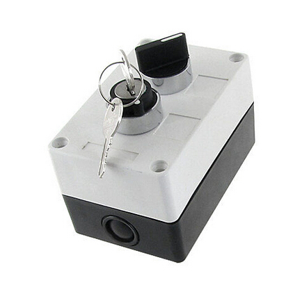 цена на NO Normally Open 2 Position Key Lock Rotary Selector Select Switch Station Box