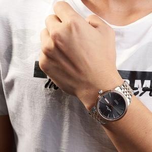 Image 2 - Reef reloj con vestido de tigre para hombre, automático, de lujo, reloj de oro rosa, fecha, día, masculino, 2020