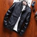 Brand Design Motorcycle Leather Jackets Men Men's 4XL Leather Jacket Jaqueta De Couro Masculina Mens Leather Jackets Men Coats