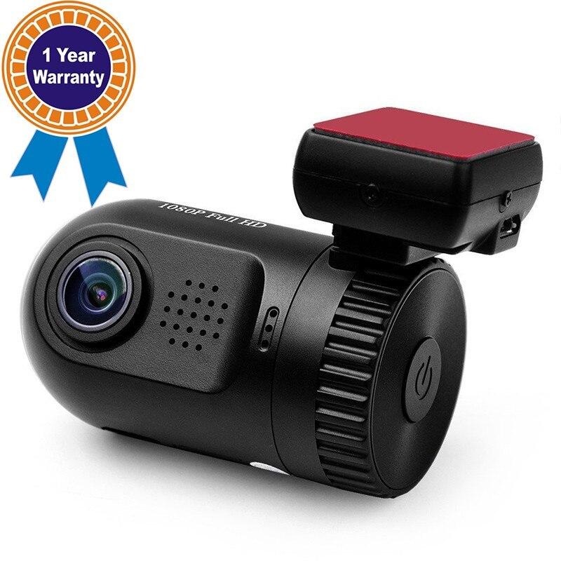 LCRTDS Mini 0801 Car Camera DashCam Dash Camera DVR HD Ambarella A2 Chip With GPS Mount Bracket and 16GB TF Card DVR Car Cam