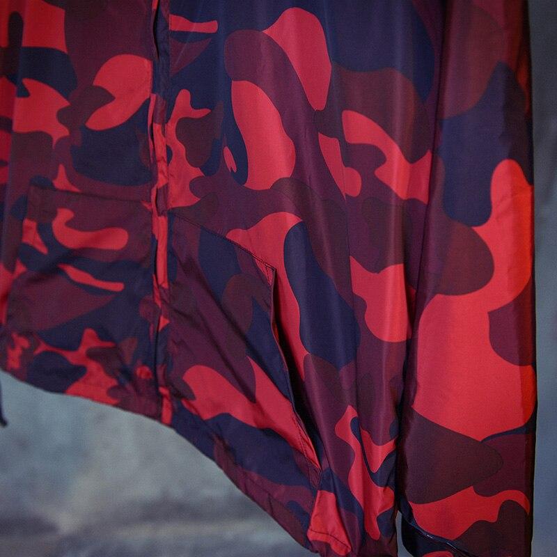 201 bahar Avrupa ve Amerikan retro sokak rüzgar kırmızı kamuflaj - Erkek Giyim - Fotoğraf 6