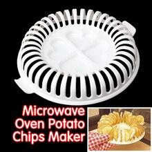 DIY Low Calories Microwave Oven Fat Free Potato Chips Maker