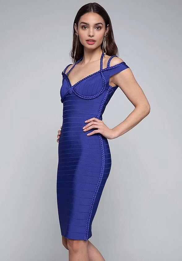 470ef981ce Qualit-sup-rieure-Sexy-V-Cou-Bleu-Rayonne-robe -lac-e-2019-Celebrity-Designer-De-Mode.jpg