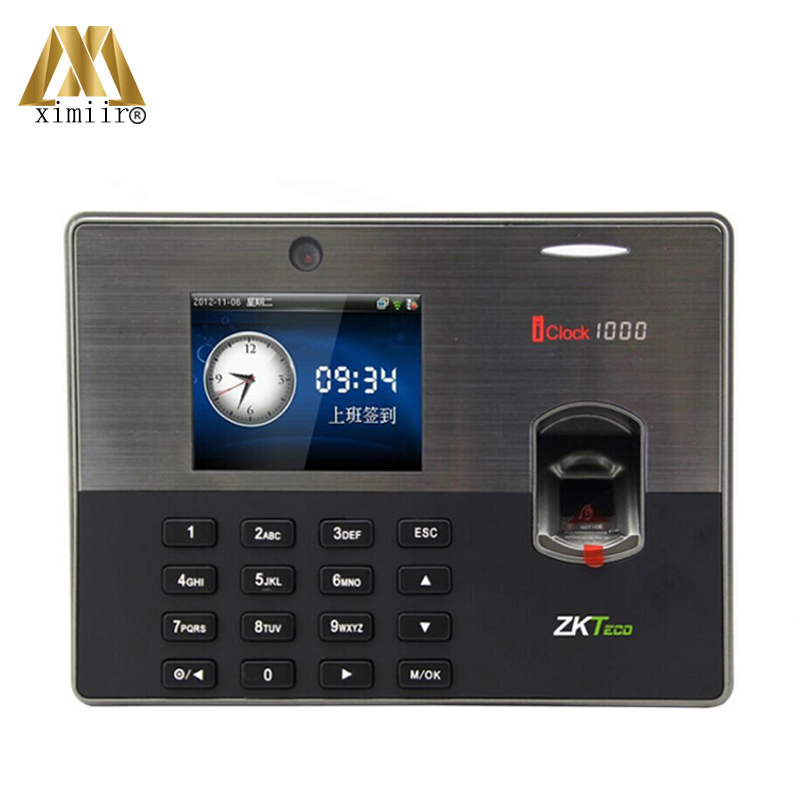 New Arrival Iclock1000 ZK Biometric Fingerprint Time Attendance ZK Fingerprint Access Control System With Free Software And SDK