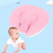 Soft Newborn Infant Baby Shaping Pillow Anti Roll Bedding Flat Head Prevent Neck Support Sleep 0-1 Years