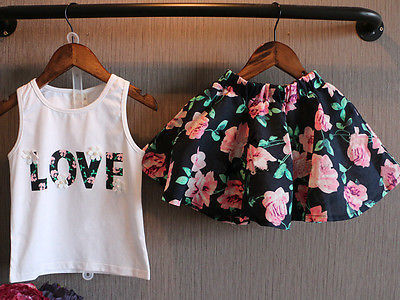 Love Floral 2PC Set