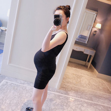 2016 New High Quality Dress for Pregnant Women Tank Maternity Dress for Pregnancy Clothes P-010