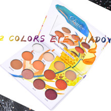 New Sika Deer 16 Color Eyeshadow Makeup Palette Matte Shimmering Flash Eye Shadow Powder Scrub Pigment Easy to Use Waterproof huntsman bl 200 k 974 56 58 182