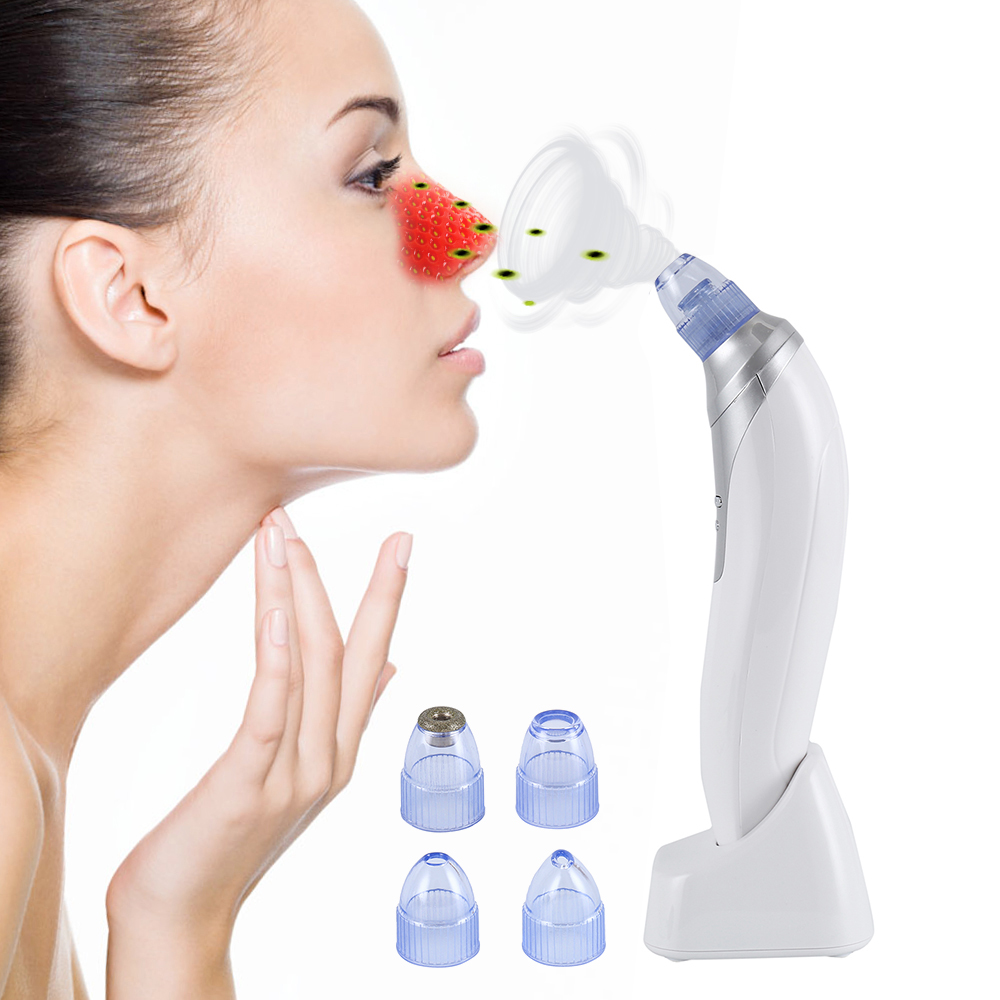 Vacuum Blackhead Remover Facial Vacuum Pore Cleaner Nose Acne Comedo Suction Spot Cleaner Face Skin Care Beauty Device цена