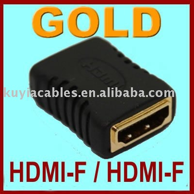 Free Shipping+100PCS/lot ! /HDMI-F to HDMI-F Female Adapter converter FOR HDMI CALBE EXTENDER
