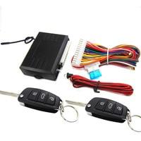 M616 8118B Universal Burglar Alarm Car Keyless Entry System with 2 Keychain Hight Quality Sensor